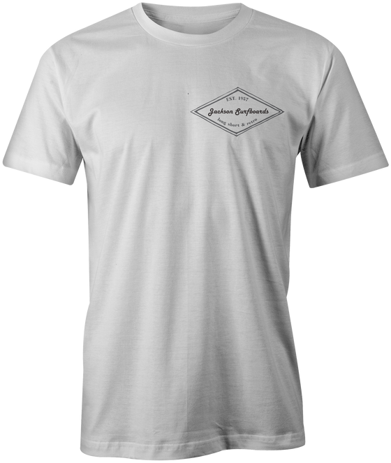 Jackson Surfboards T-Shirt Vintage White