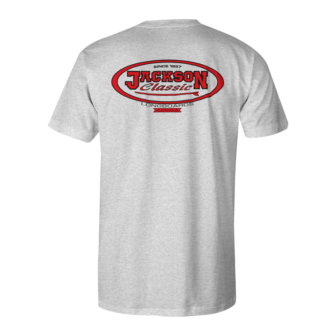 Jackson Surfboards T-Shirt Grey Marle