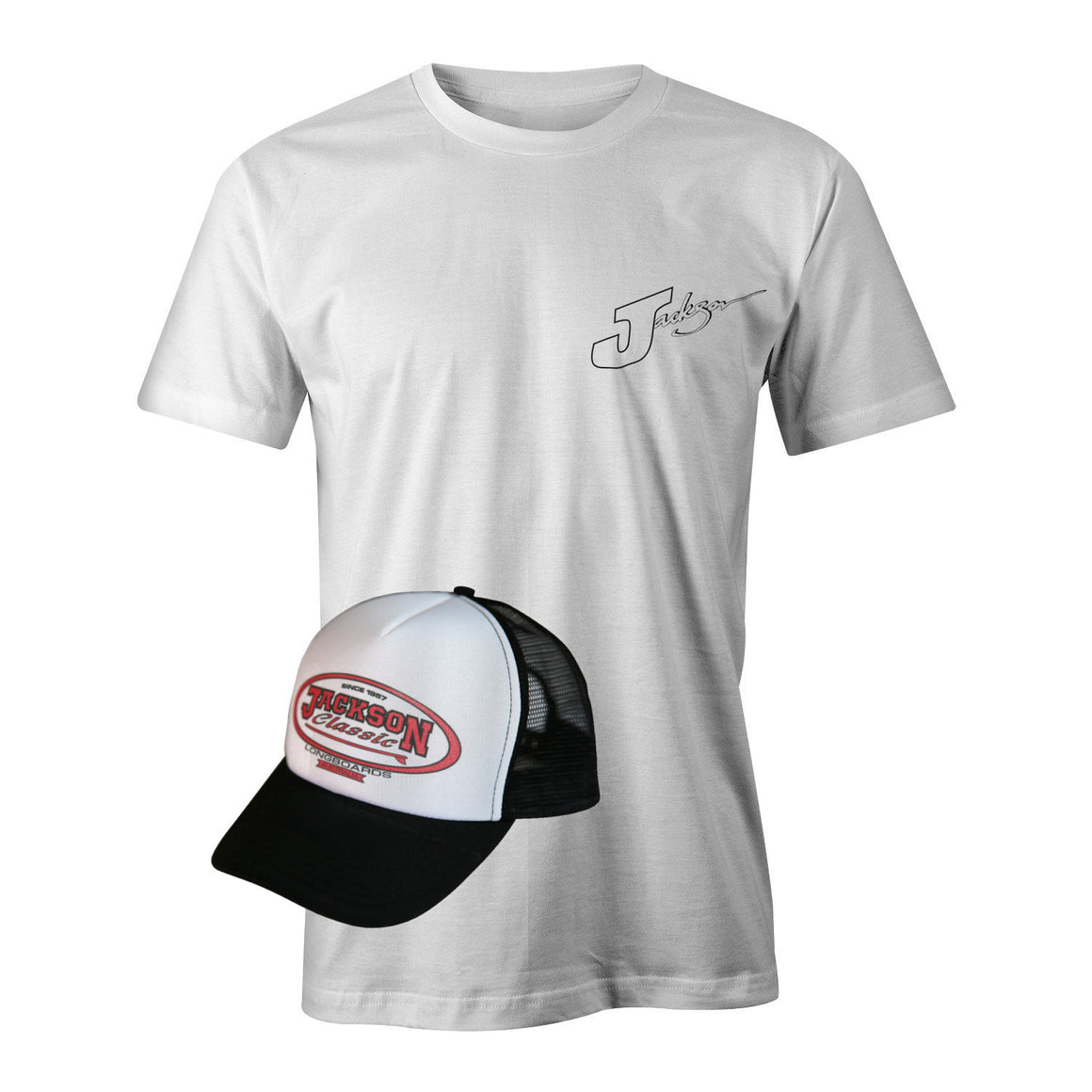 T-Shirt and Cap SPECIAL - CLASSIC LOGO on cap - Grab both to get a bargain