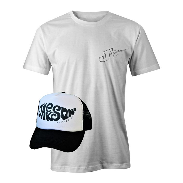 T-Shirt and Cap SPECIAL - FUNKY LOGO on cap - Grab both to get a bargain