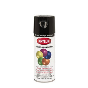 Krylon® 5-Ball Interior-Exterior Paint Enamels, Gloss Black