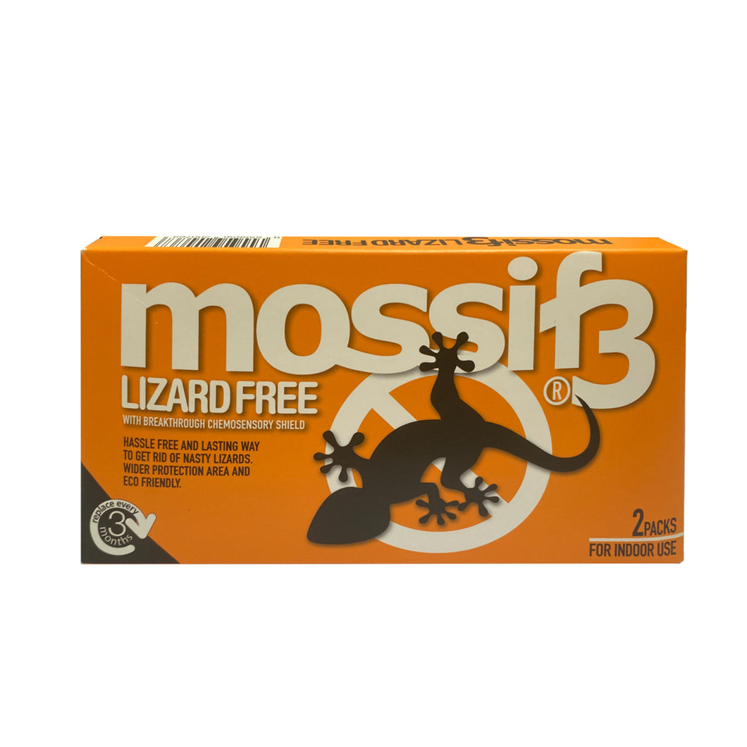 Mossif3 Lizard Free with Breakthrough Chemosensory Shield