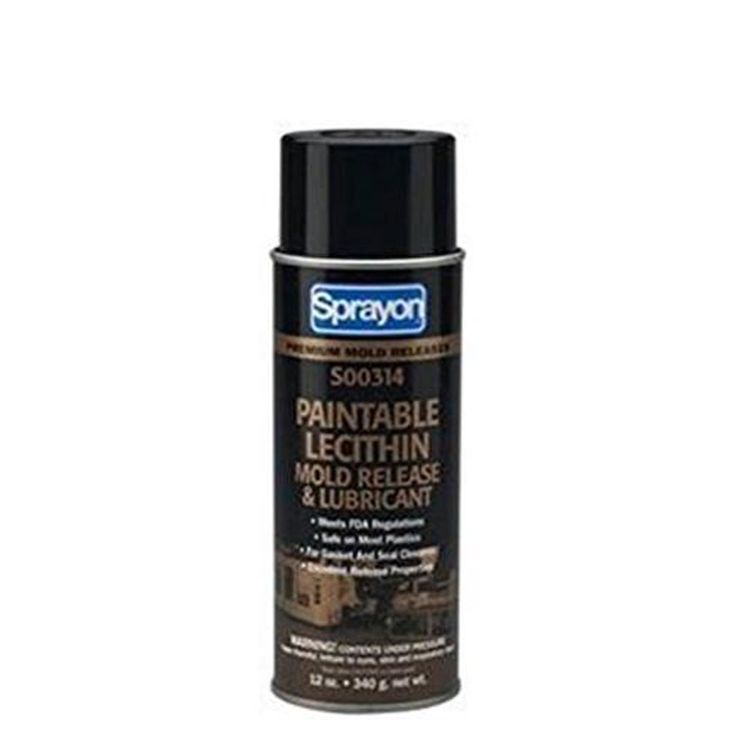 Sprayon® S00314 Paintable Lecithin Mold Release & Lubricant