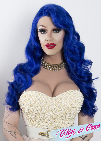 ROYAL APHRODITE - Wigs and Grace , drag queen wig, drag queen, lace front wig, high quality wig, rupauls drag race wig, rpdr wig, kim chi wig