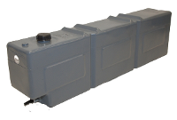 Boab Poly Water 55L Ute Mount Tank