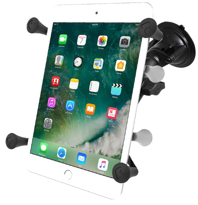 "RAM Twist-Lock™ Suction Cup Mount with Universal X-Grip® to suit 7"" and 8"" tablets"
