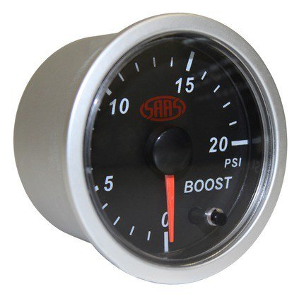 Roadsafe SAAS Streetline Boost Gauge Diesel 020 PSI