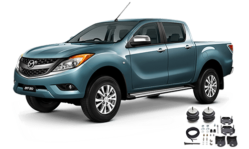 Airbags to suit Mazda BT-50 B22 2.2L 4x2 Hi-Rider, 4x4 11-19