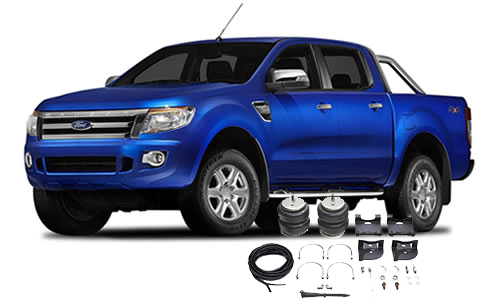 Airbags to suit Ford Ranger PX & PX II T6 4x2 Not Hi-Rider Dec.11-19