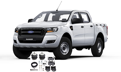Airbags to suit Ford Ranger PX & PX II T6 4x4, 4x2 Hi-Rider Dec.11-19
