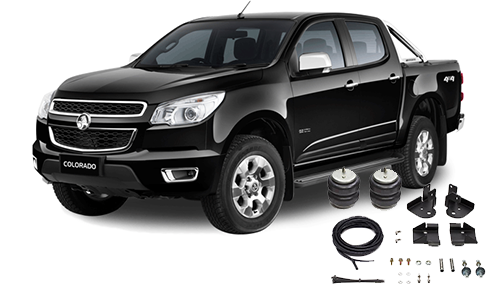Airbags to suit Holden Colorado RG Jun.12-18