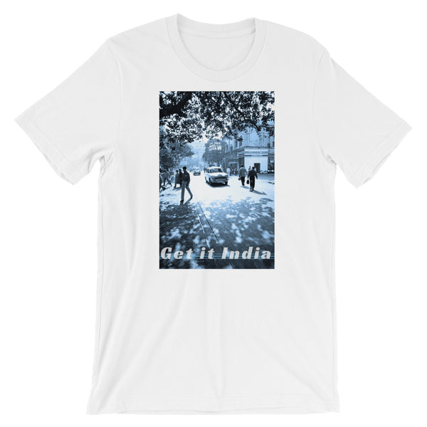 Get it India Photo T-Shirt by Martin Hurley (Unisex / BLUE) -  - Shopafoo Art Tees