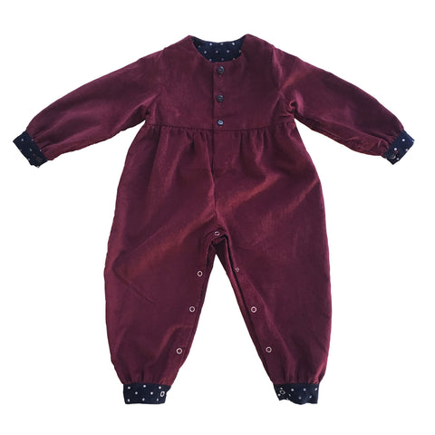 Solly Romper (Cranberry)