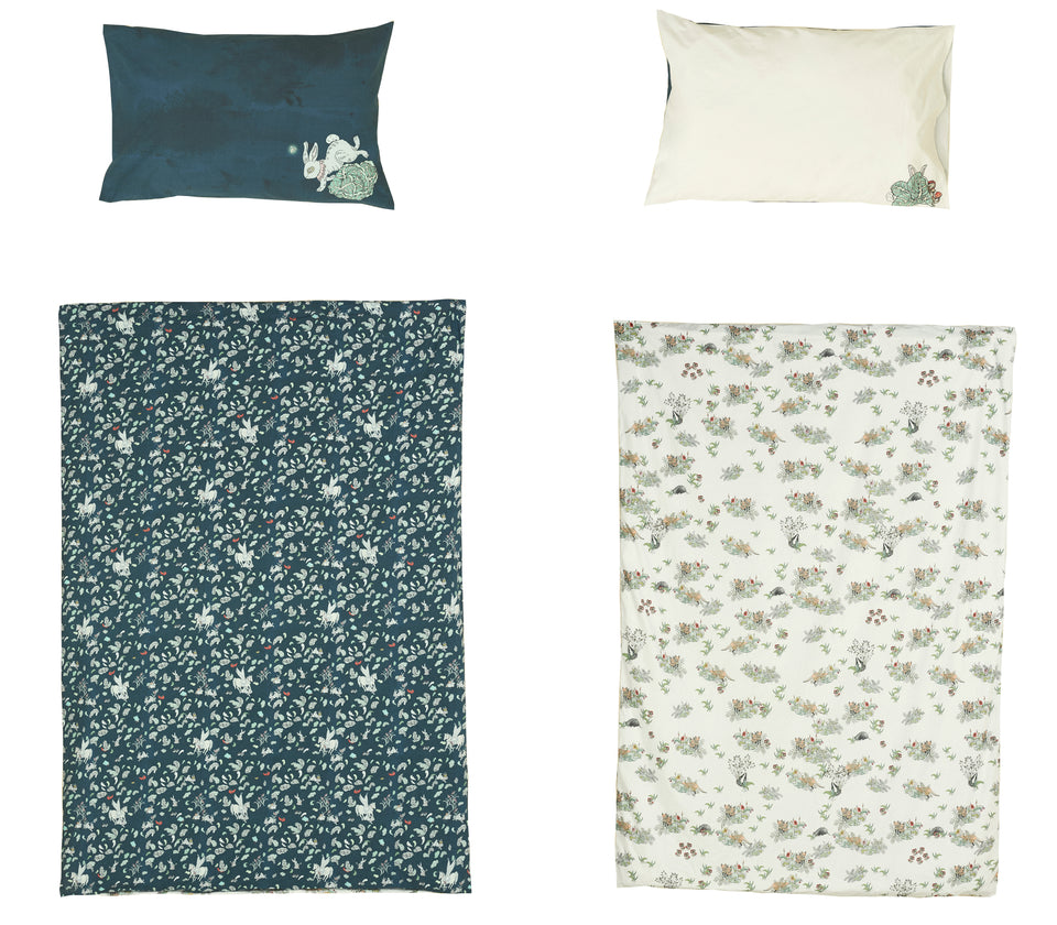Hidden Foxes & Tumbling Pegasus Reversible Duvet Set