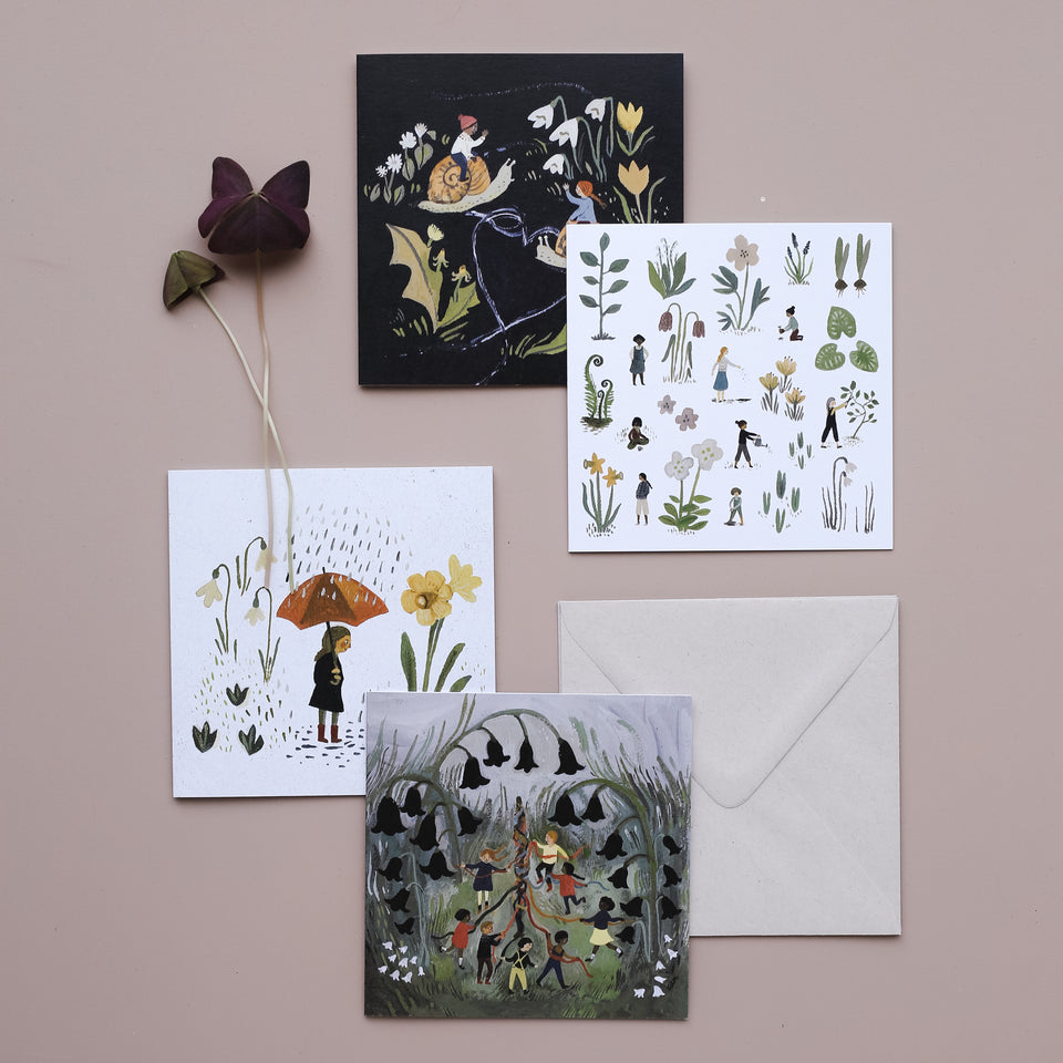 Spring Greeting Cards (Set of 6)