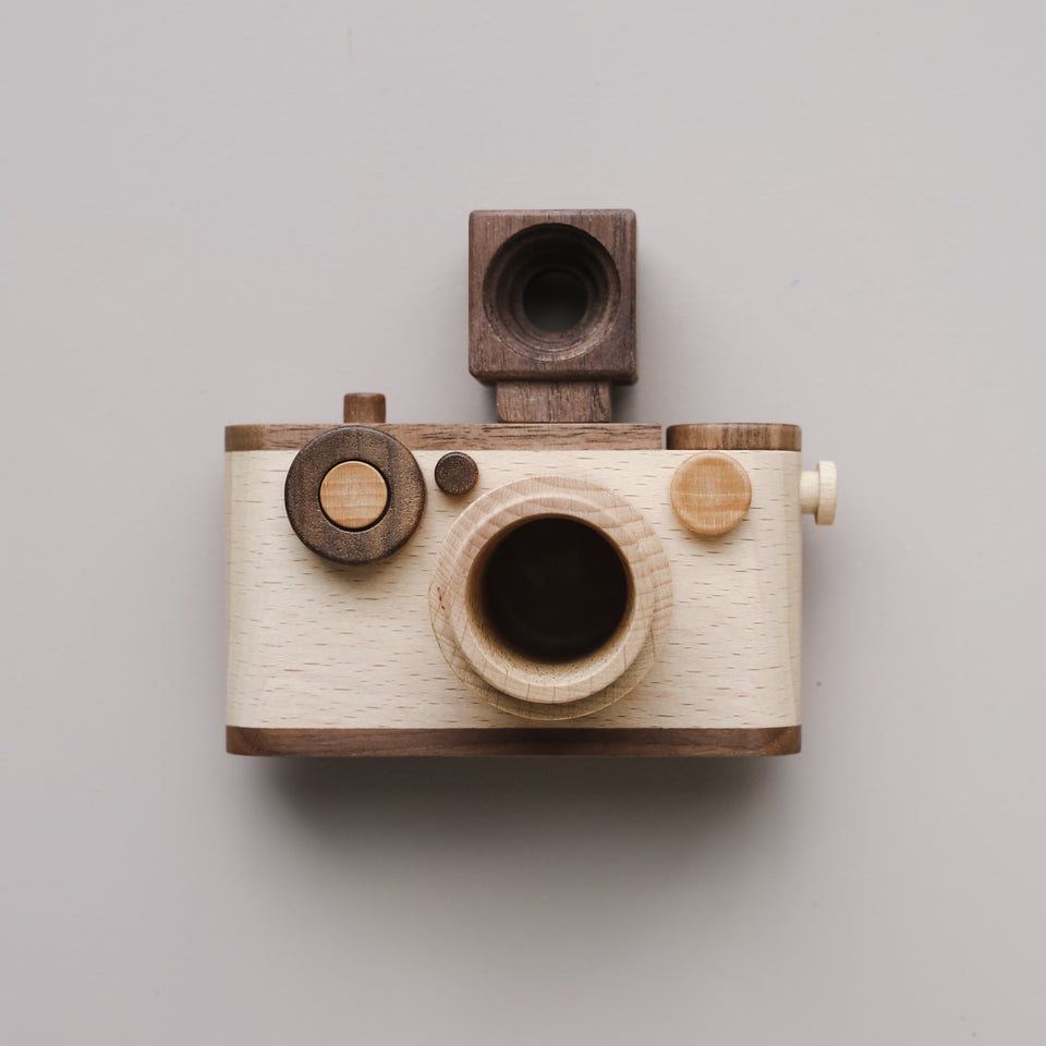 Original 35mm Vintage Wooden Toy Camera