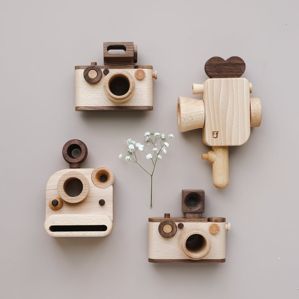 Super 8 Wooden Toy Camera