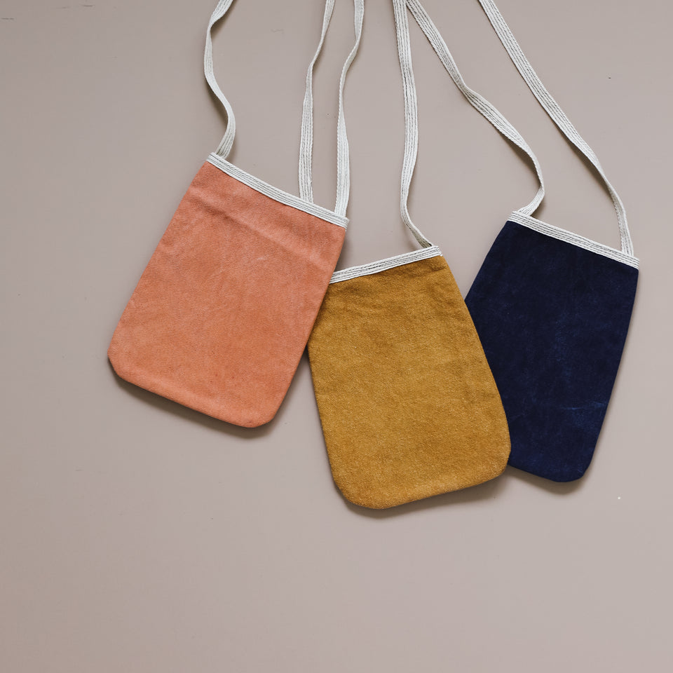 Plant Dyed Pouch