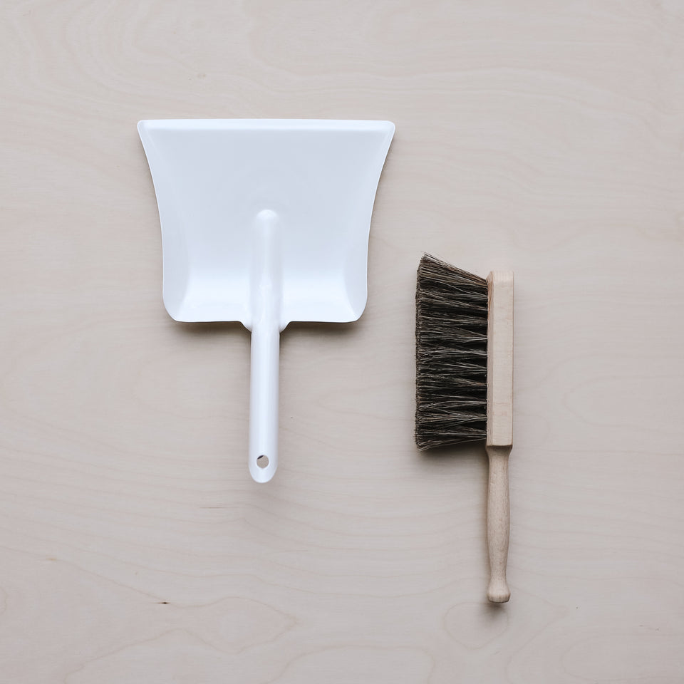 Child's Dustpan + Broom Set