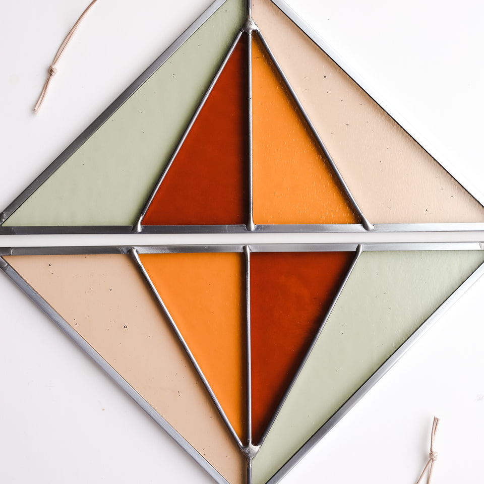 Triangle Suncatcher