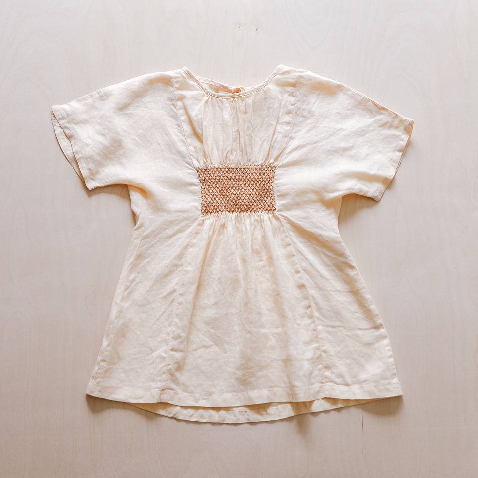 Bella Dress (Cream)