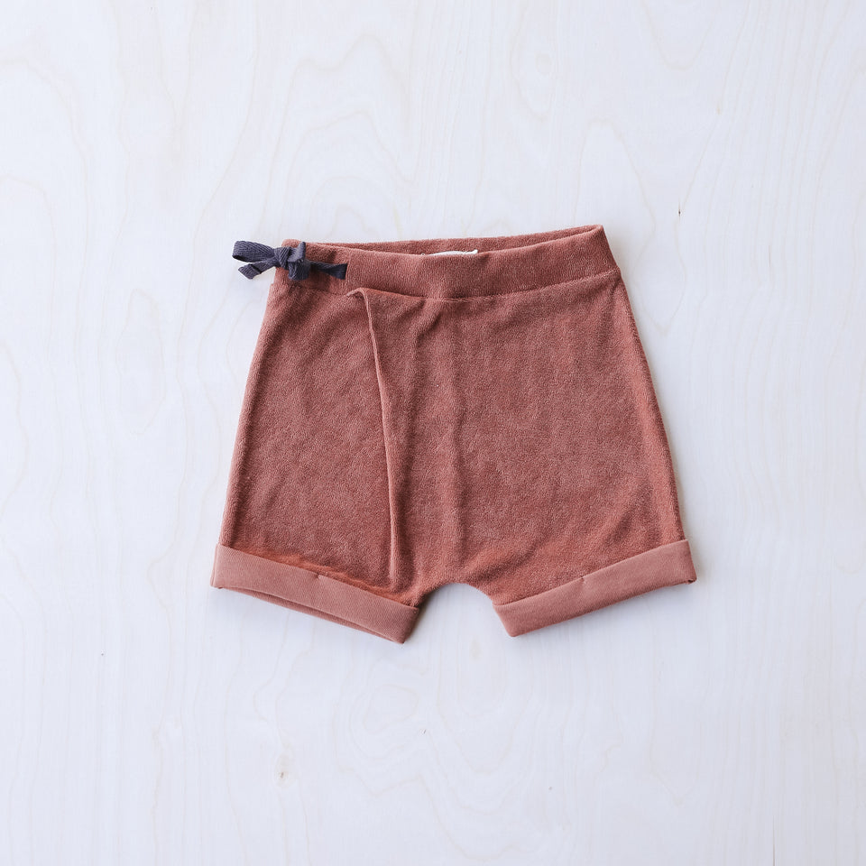 Frotté Shorts (Burnt Clay)