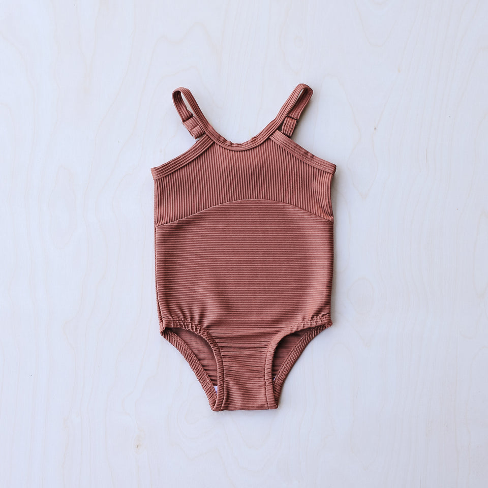 Swimsuit (Burnt Clay)