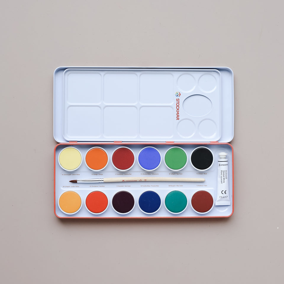 Opaque Color Paint Palette
