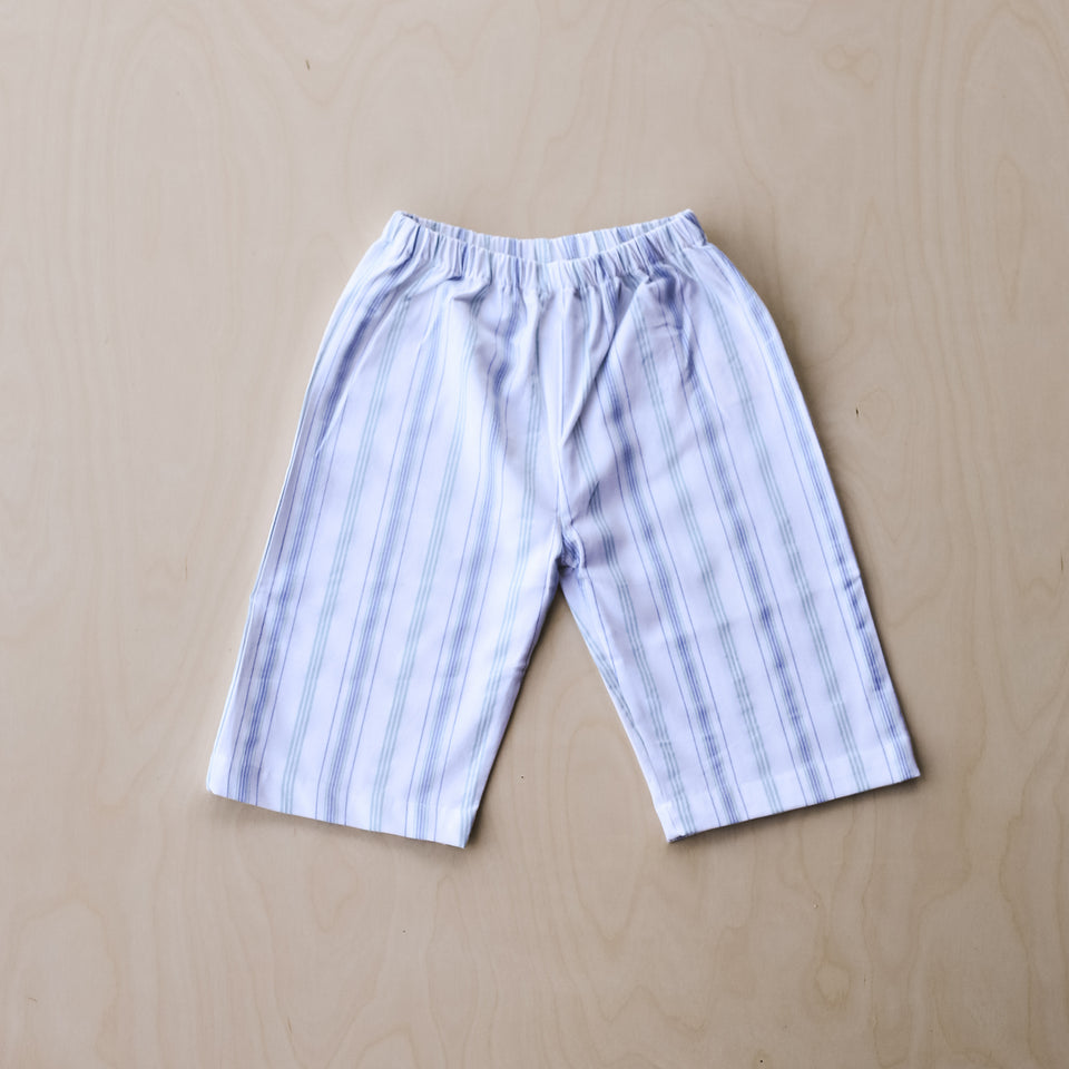 Lee Pants (Blue & Turquoise Stripes)