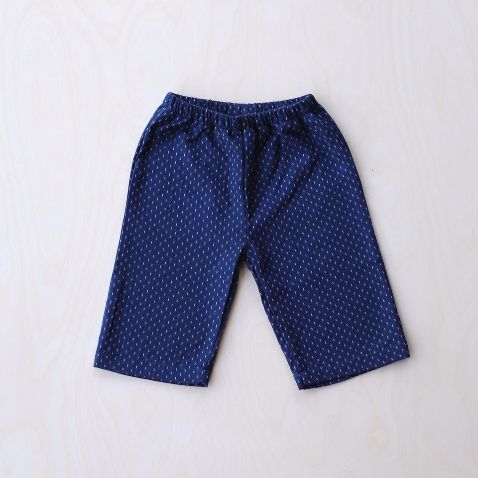Lee Pants (Blue Woven Dots)