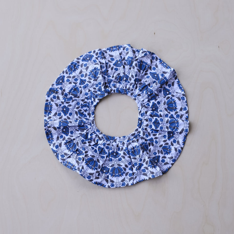 Columbine Collar (Blue & Grey Flower)