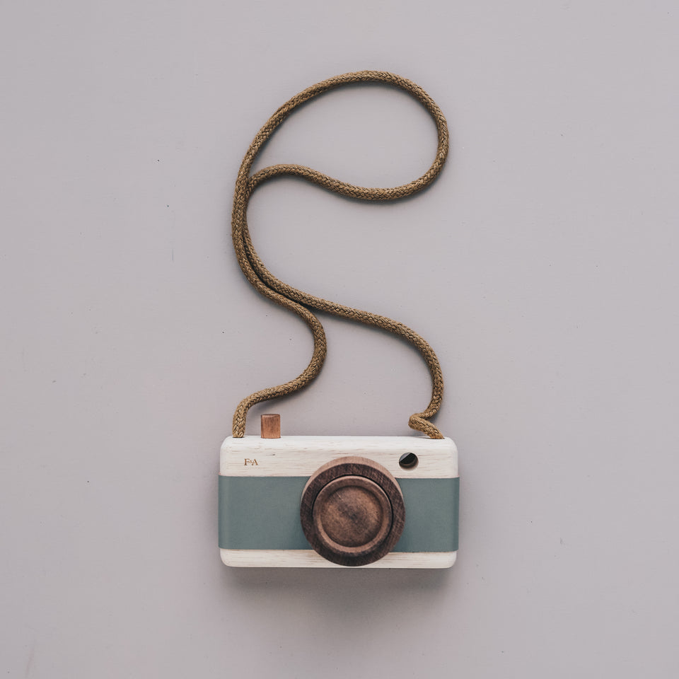 Wooden Camera (Fern Frond Green)