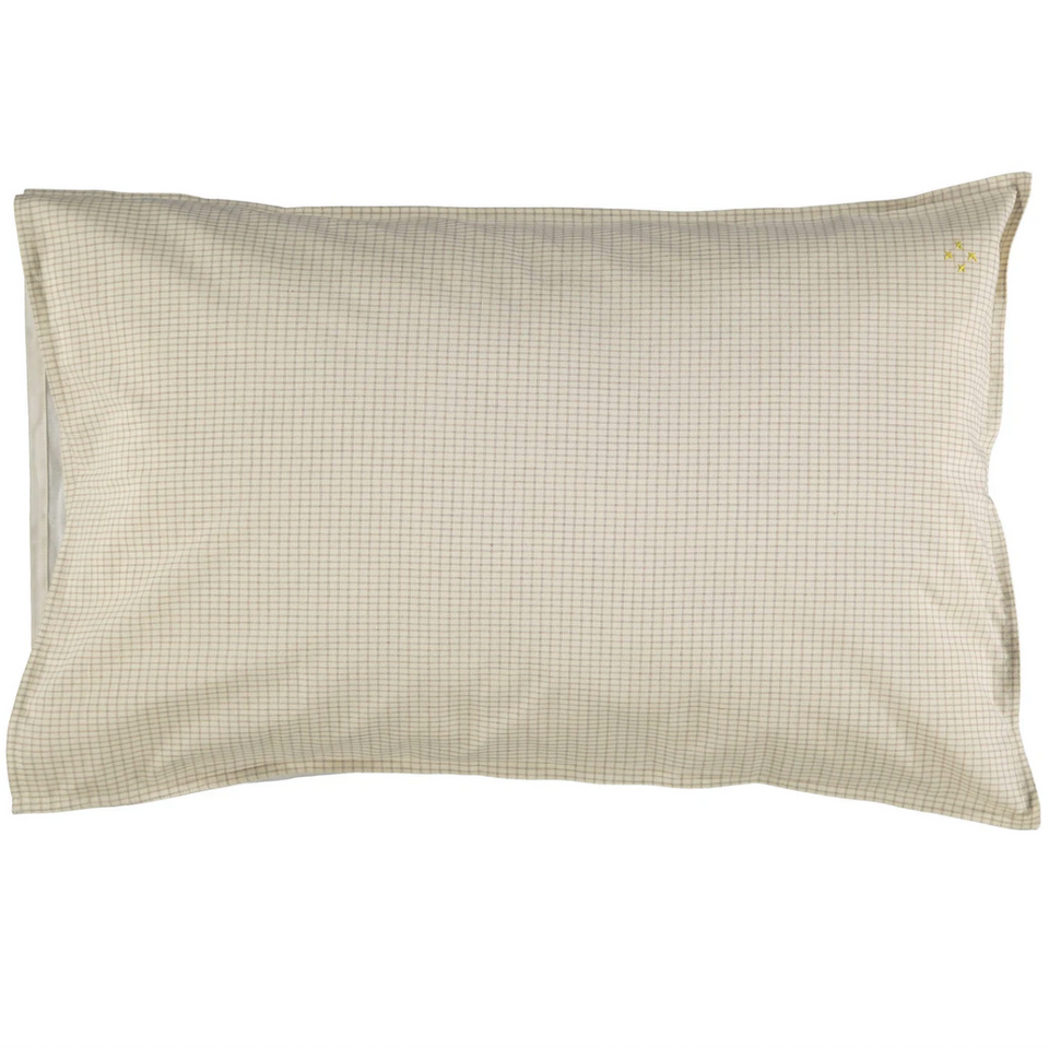 Pillow Case (Ivory/Clay)