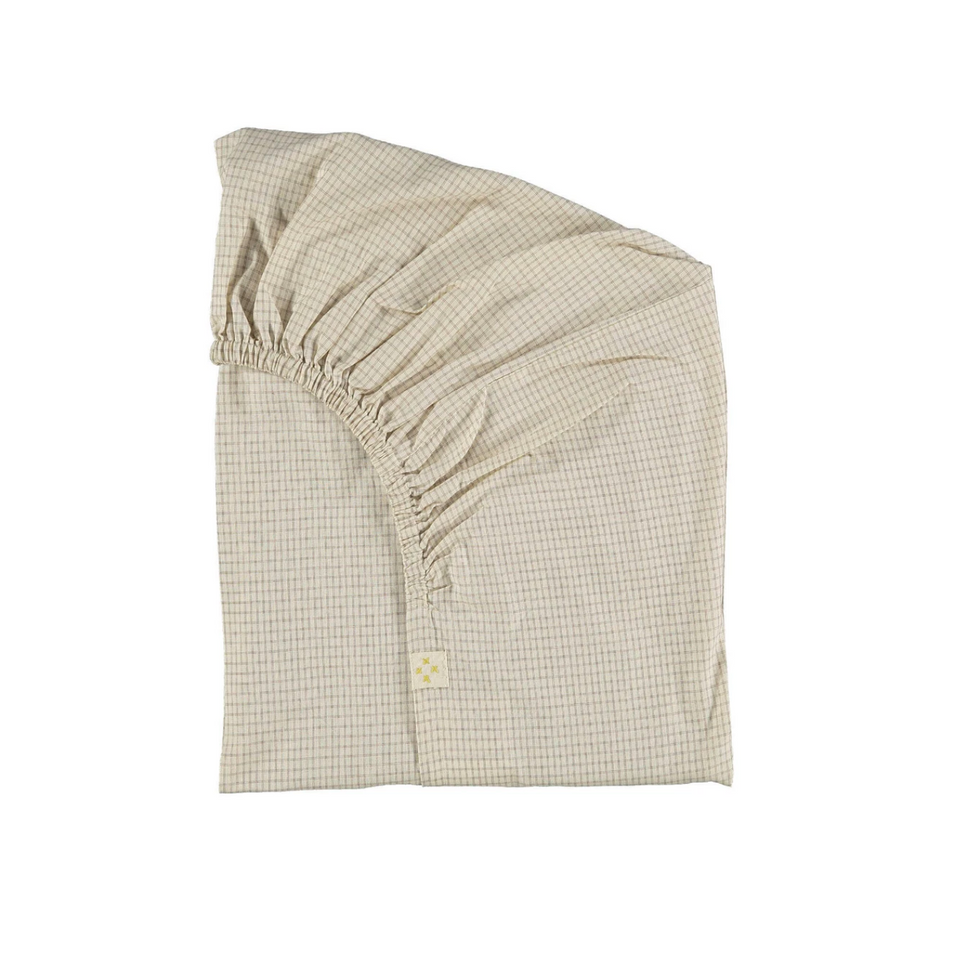 Fitted Sheet (Ivory/Clay)