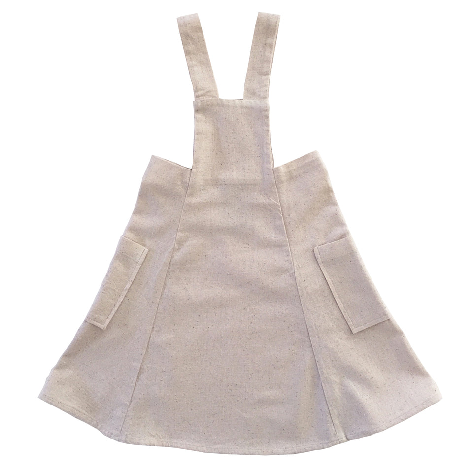 Haddi Pinafore (Natural)