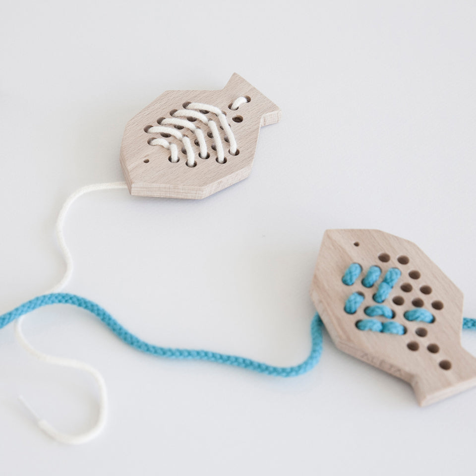 Fish Lacing Toy