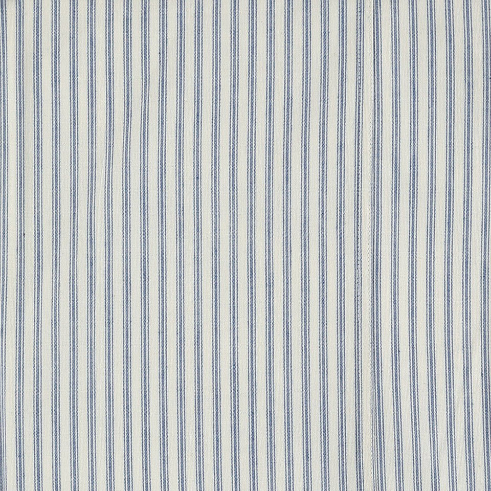 Fitted Sheet (Blue Ticking Stripe)