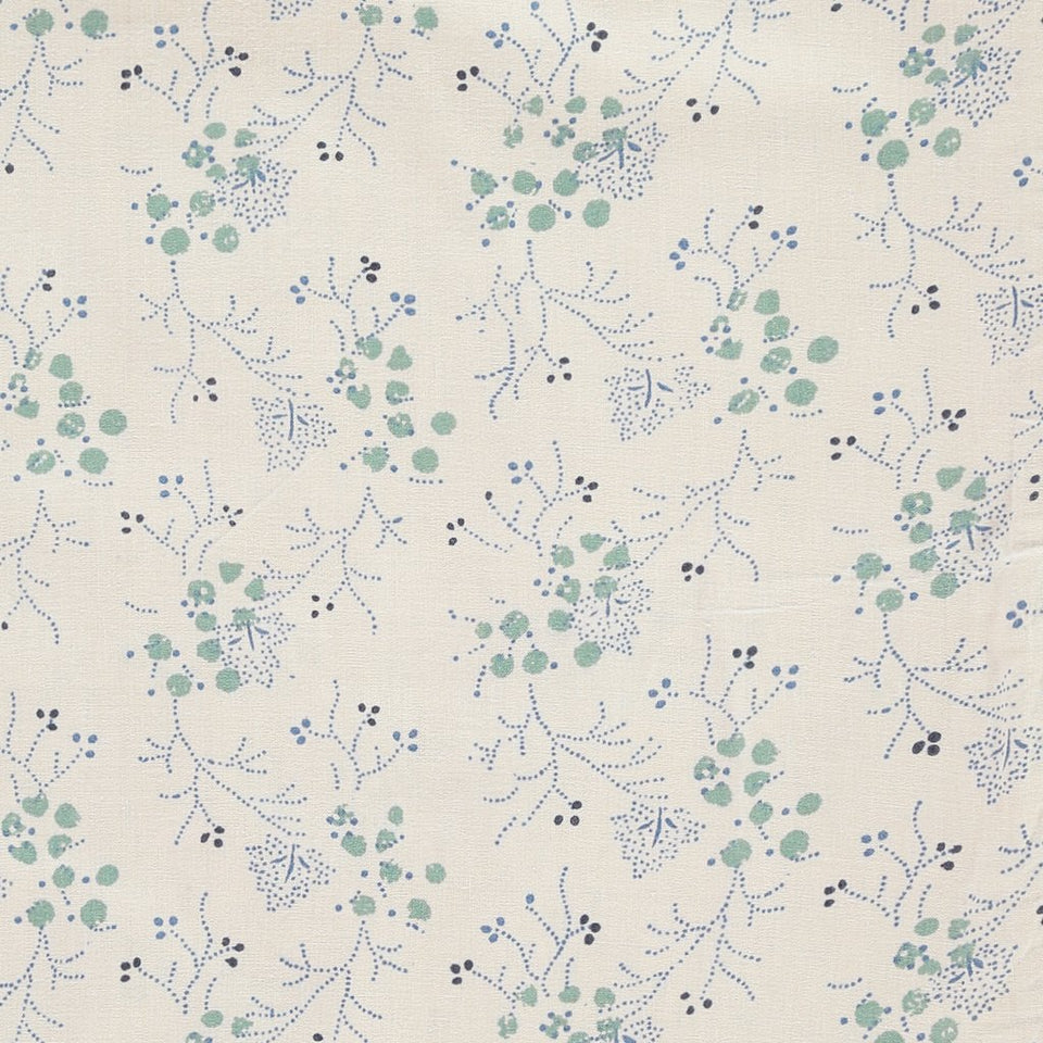 Fitted Sheet (Minako Floral Cornflower)