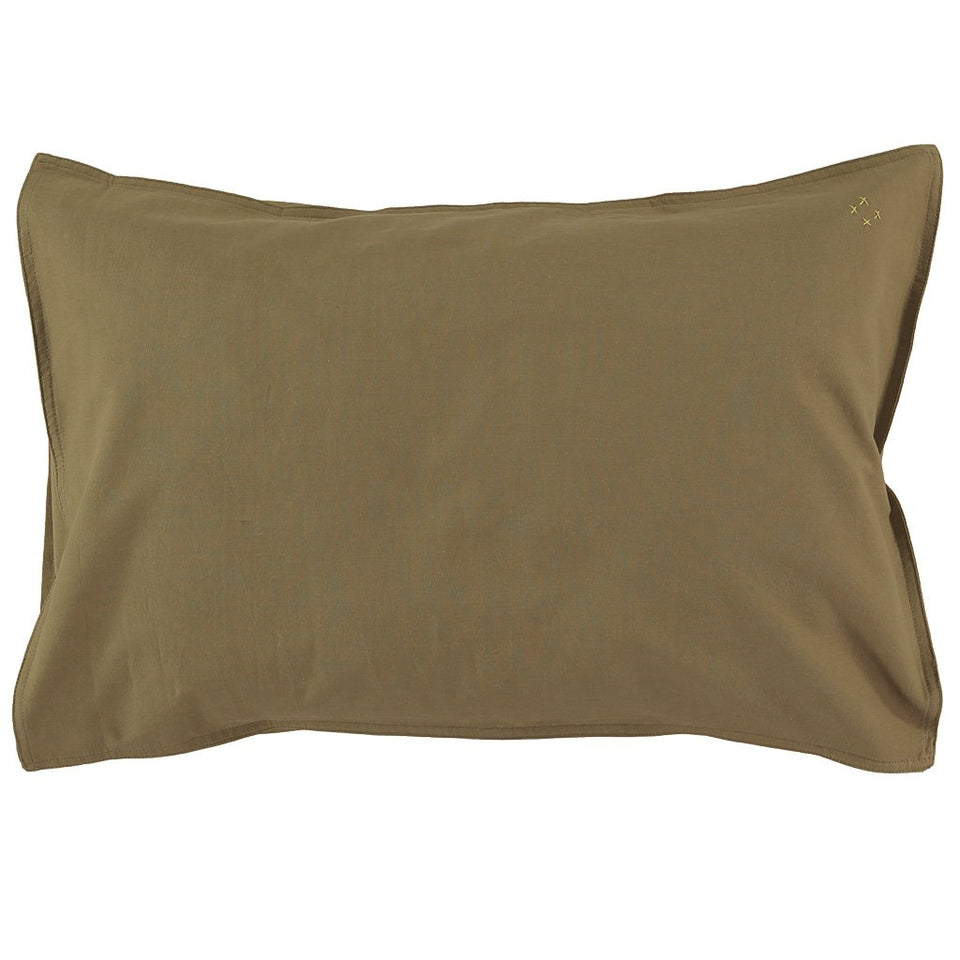 Pillow Case (Organic Cotton - Olive)