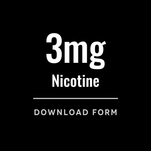 VC Wholesale 3mg Nicotine Form
