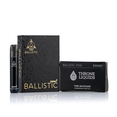 Ballistic Starter Kit BLACK - Throne Liquids