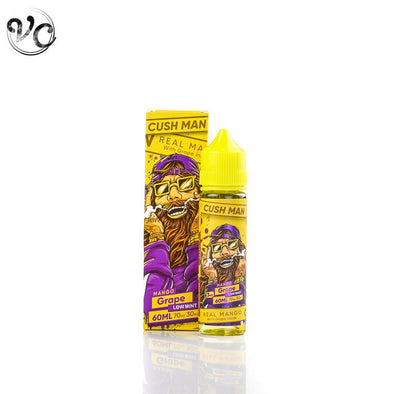 Nasty Juice Cush Man Series - Mango Grape-E-Juice-Vape Club