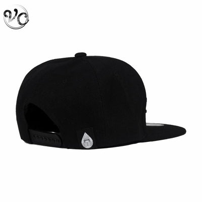 Black-on-black Snapback-Apparel-wholesale-Vape Club