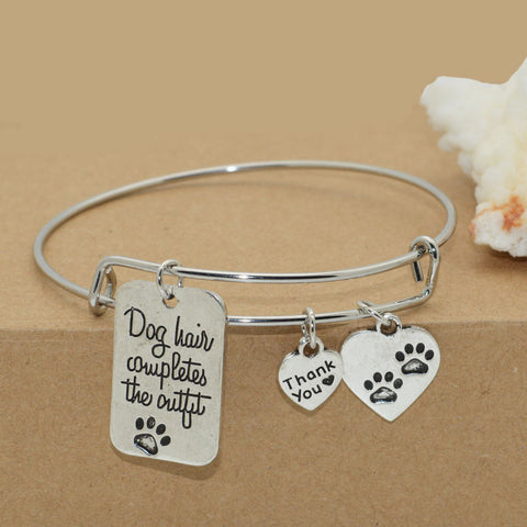 2016 New high quality dog lover's bracelet bangle