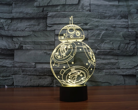 Star Wars Visual Illusion LED Lamp
