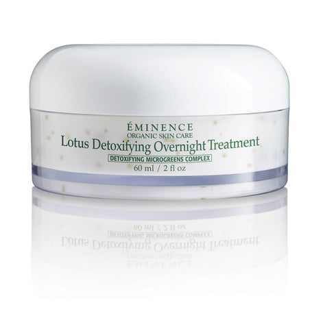 Eminence Microgreens Lotus Detoxifying Overnight Treatment