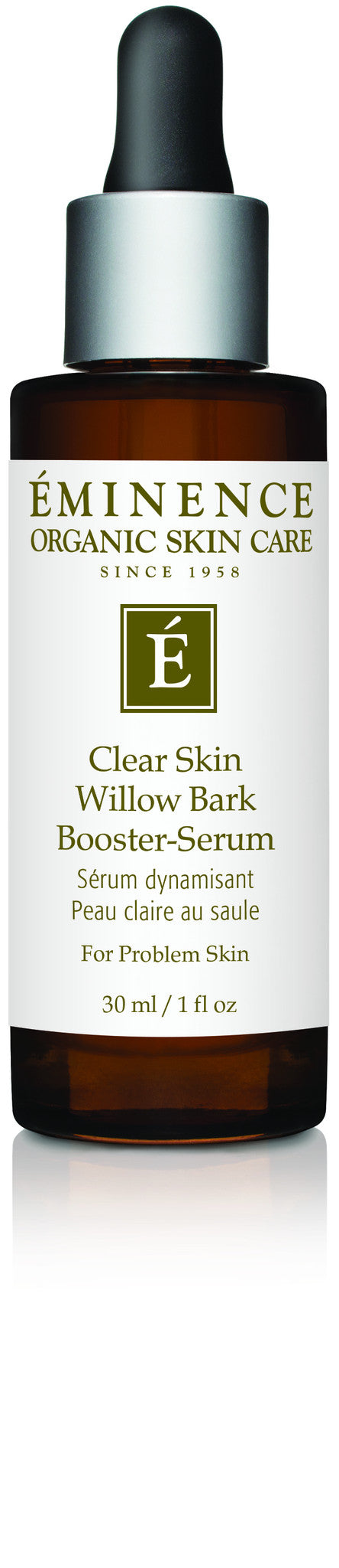 Clear Skin Willow Bark Booster-Serum - Organic Skin Therapy