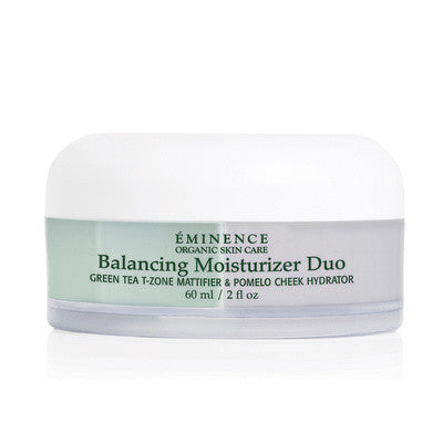 Balancing Moisturizer Duo - Green Tea & Pomelo Cheek - Organic Skin Therapy