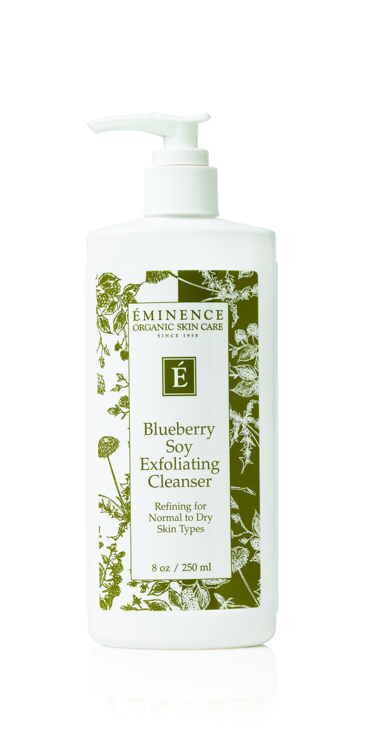 Blueberry Soy Exfoliating Cleanser - Organic Skin Therapy