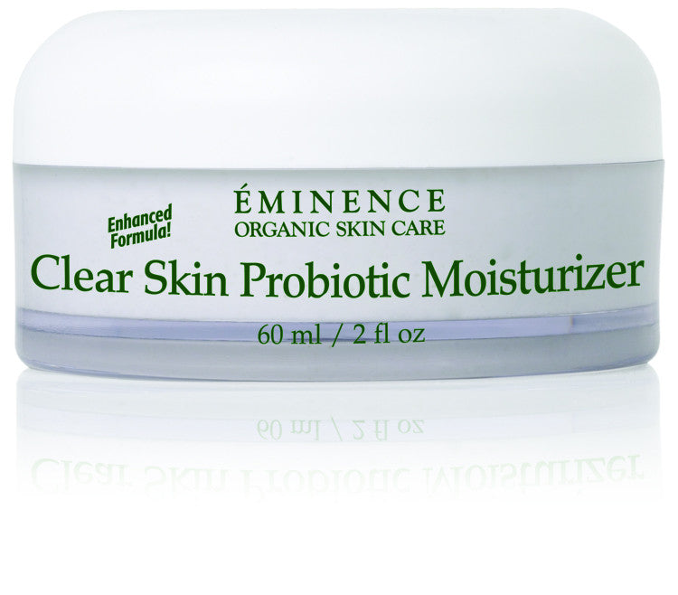 Clear Skin Probiotic Acne Moisturizer - Organic Skin Therapy